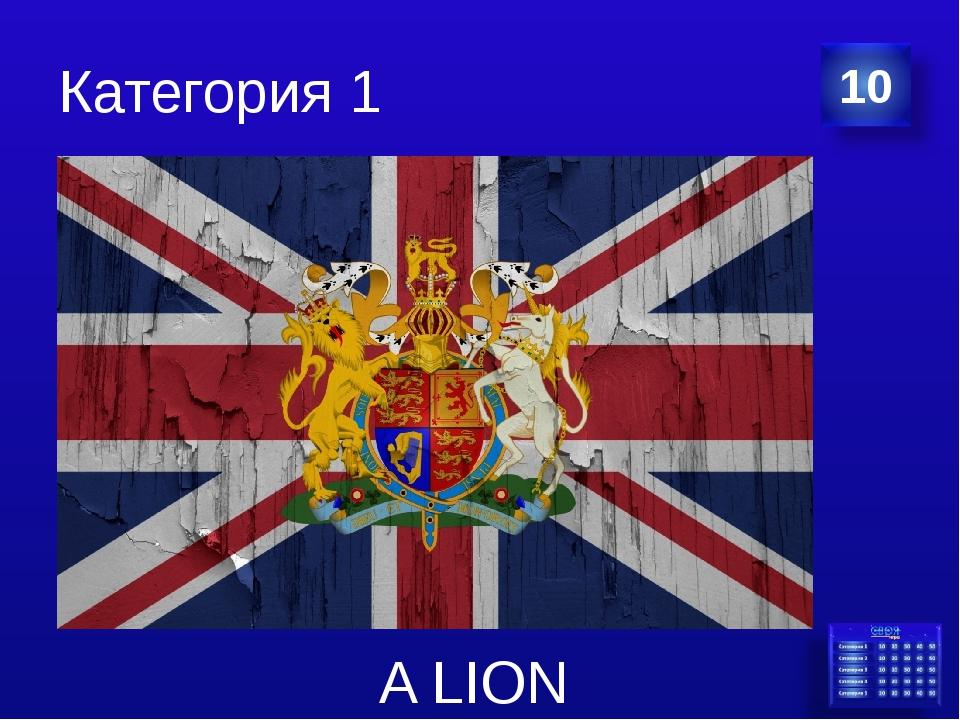 Категория 1 A LION