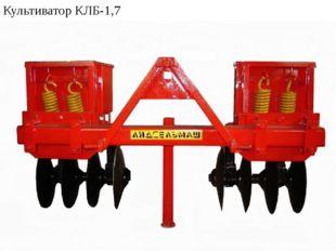 Культиватор КЛБ-1,7