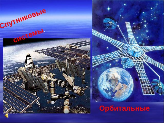 Орбитальные станции Спутниковые системы.