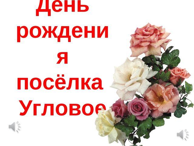 День рождения посёлка Угловое