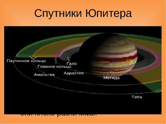 Спутники Юпитера В настоящее время учеными известны 65 естественных спутников...