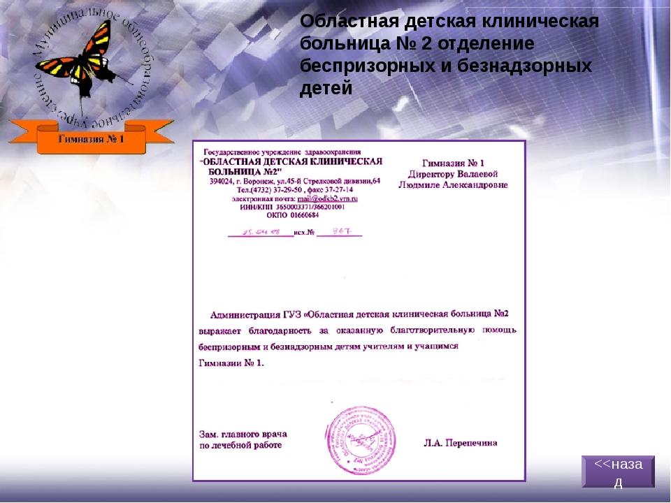 Воронежский городской геронтологический центр