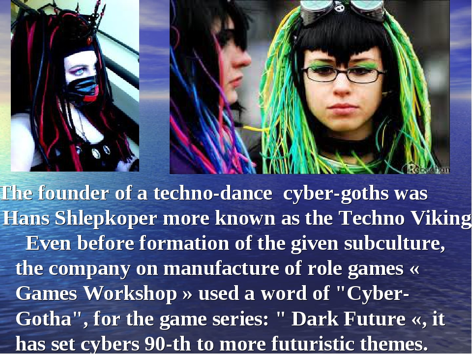 The founder of a techno-dance cyber-goths was Hans Shlepkoper more known as...