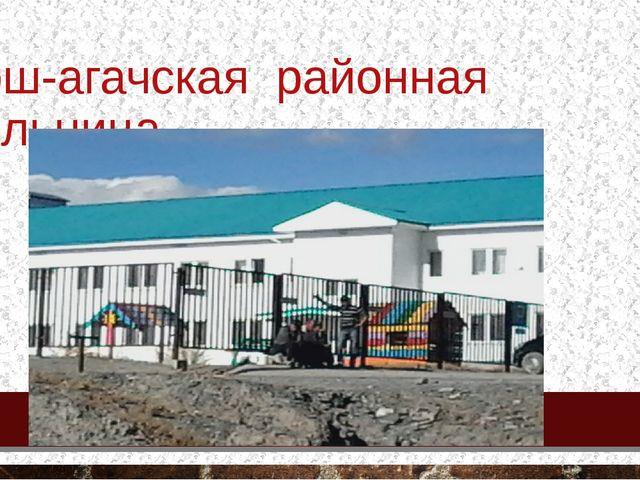 Кош-агачская районная больница