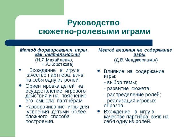 методика руководства режиссерскими играми дошкольников - фото 5
