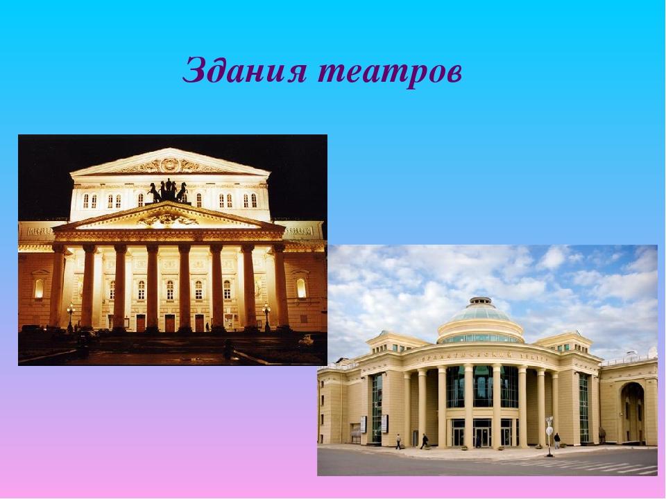 Здания театров