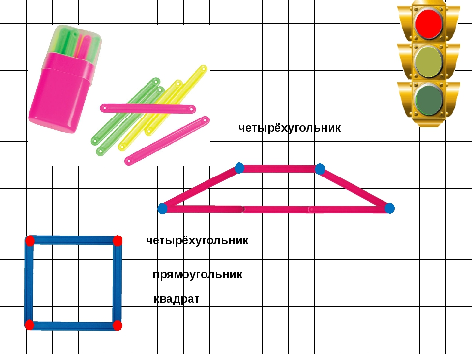 квадрат четырёхугольник четырёхугольник прямоугольник