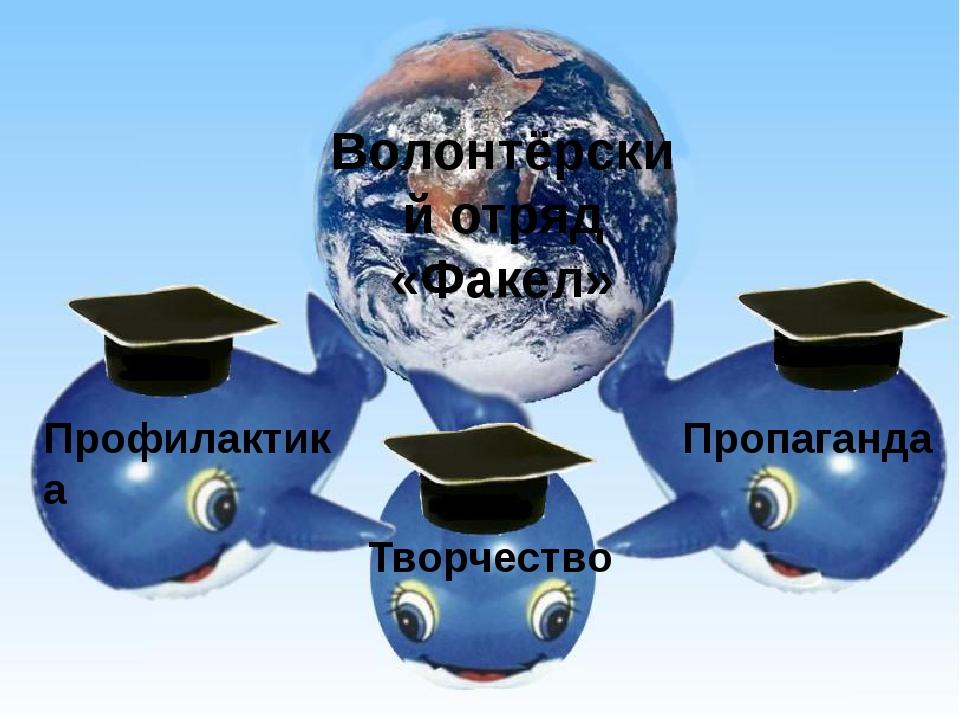 Профилактика Пропаганда Творчество Волонтёрский отряд «Факел»