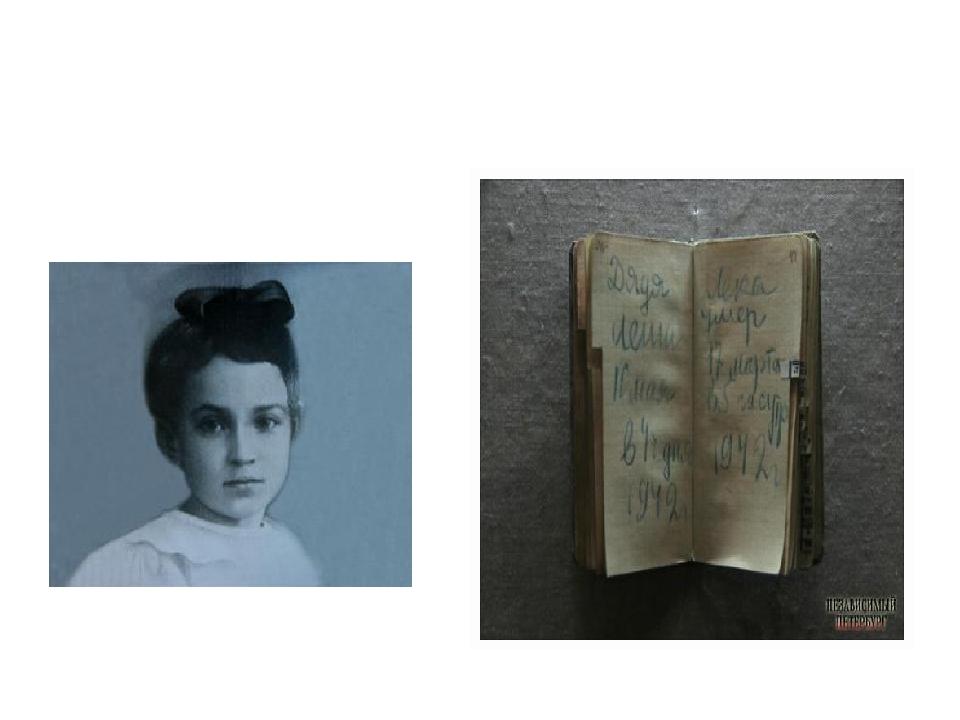 Таня Савичева и её дневник