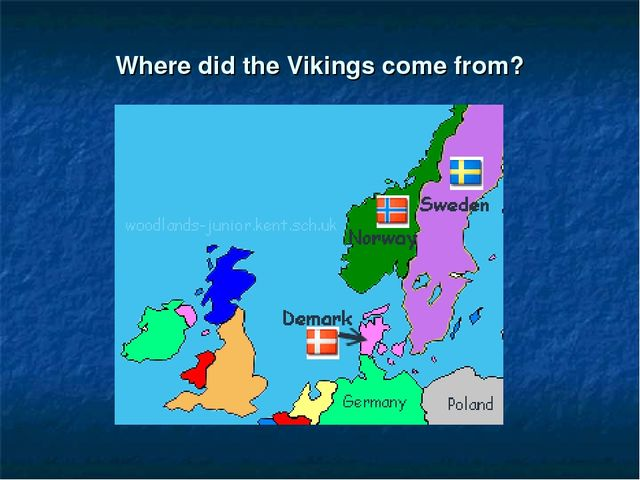 Where did the Vikings come from?