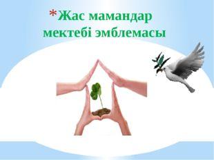 Жас мамандар мектебі эмблемасы