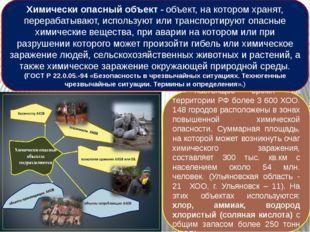 В настоящее время на территории РФ более 3 600 ХОО. 148 городов расположены