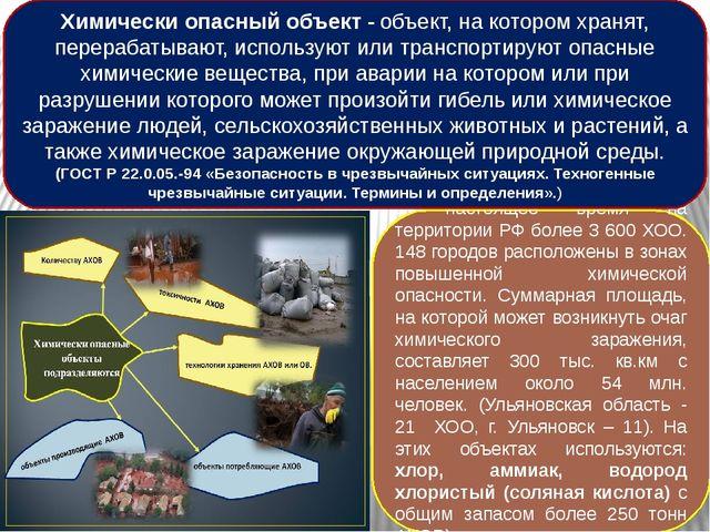 В настоящее время на территории РФ более 3 600 ХОО. 148 городов расположены...