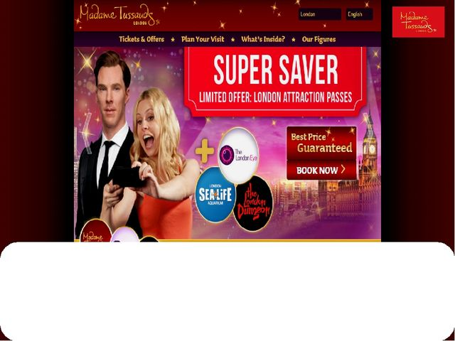 You can order tickets to the museum on Madame Tussauds official site which co...
