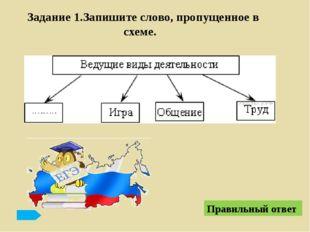 Демография Правильный ответ Название науки Объект изучения Экономика Система