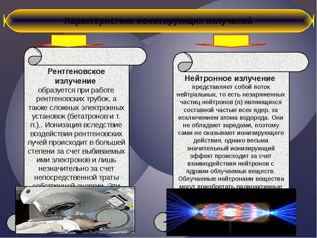 Рентгеновское излучение образуется при работе рентгеновских трубок, а также...