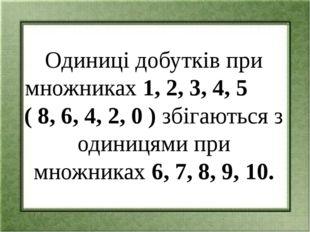 8 х 1 = 8 8х6=48 8 х 2 = 16 8х7=56 8 х 3 = 24 8х8=64 8 х 5 = 40 8х10=80 8 х