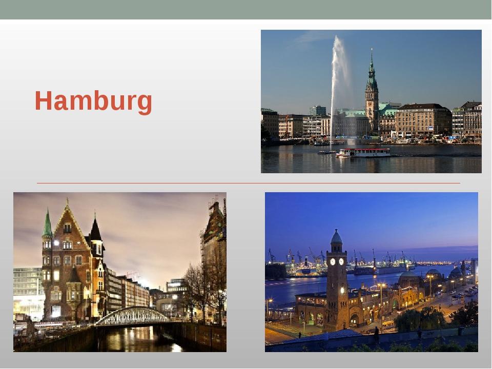 Hamburg .