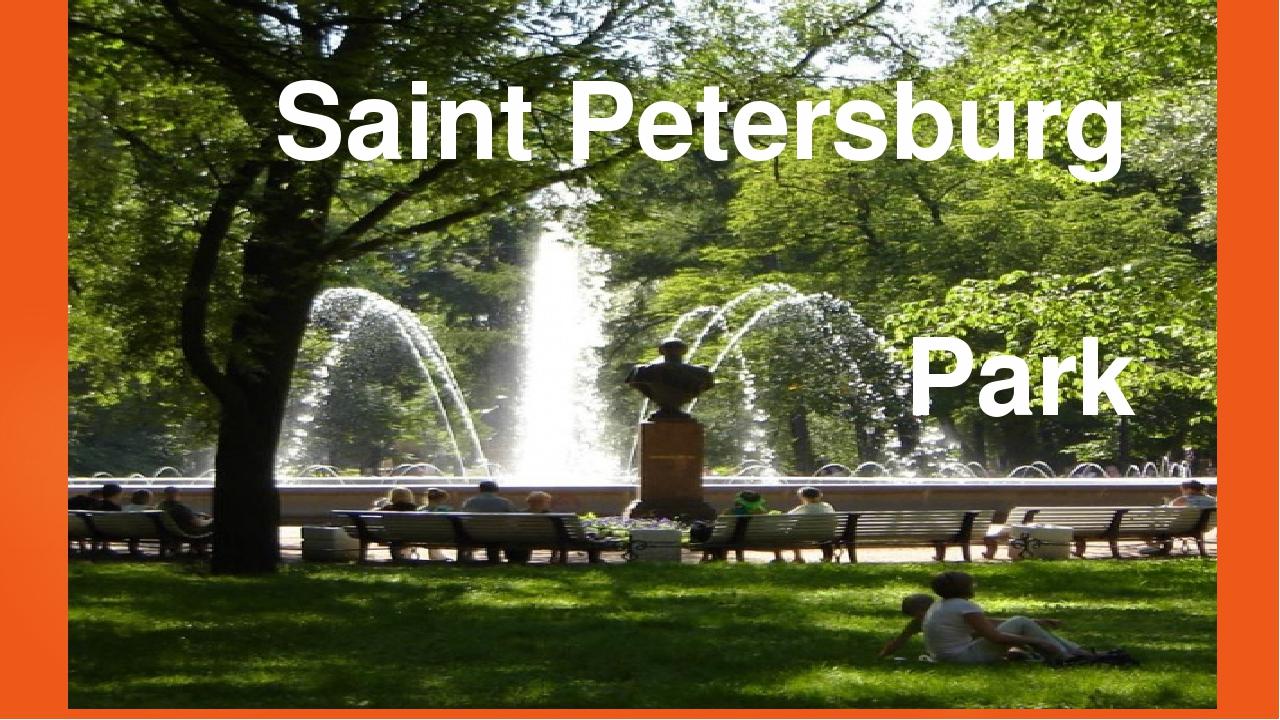 Saint Petersburg Park