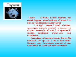 Торпақ – ақшаны күніне бірнеше рет санай беруден жалықпайтын, ақшаны өте жа
