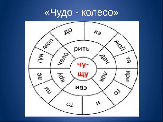 «Чудо - колесо»