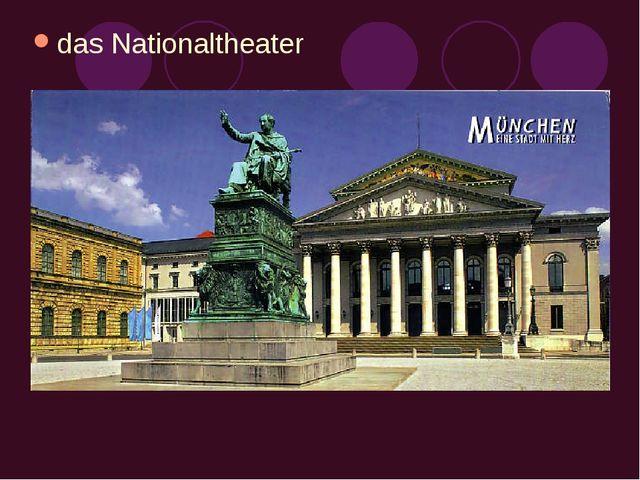 das Nationaltheater