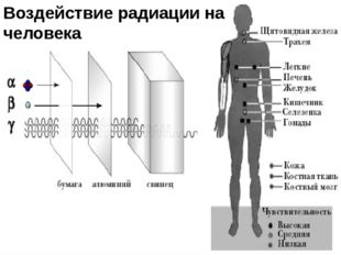 Воздействие радиации на человека