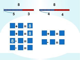 8 8 5 3 4 4 8 = + = - = + = - 8 = + 8 = -