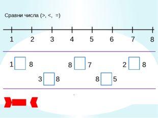 Сравни числа (>,