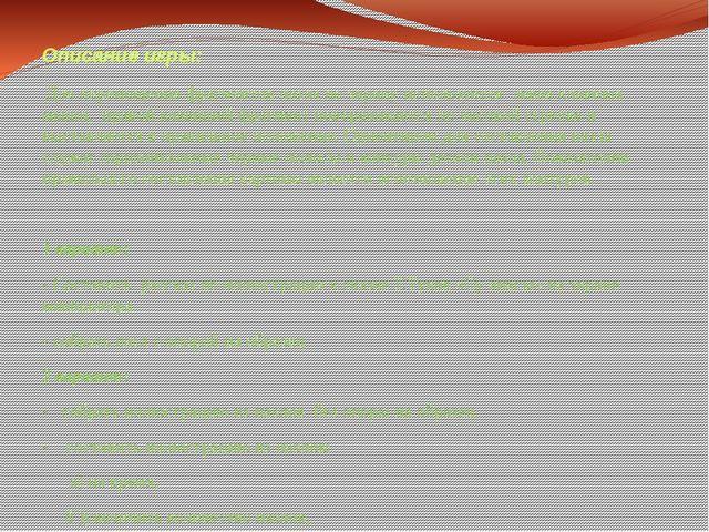 Описание игры: Для перемещения фрагментов пазла по экрану используется левая...