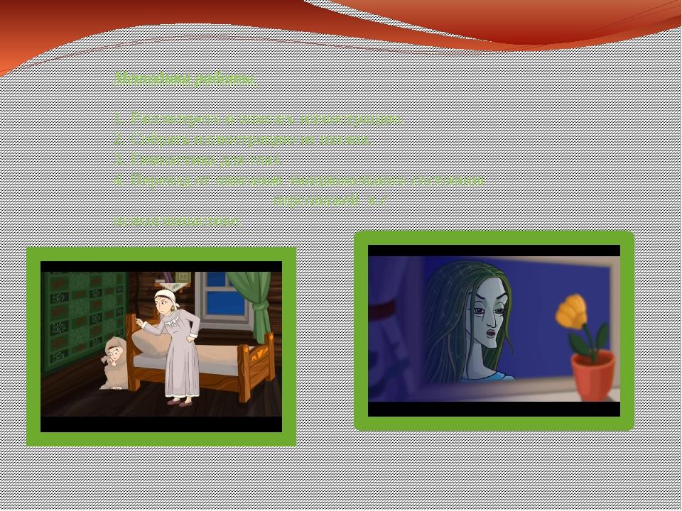 Методика работы 1. Рассмотреть и описать иллюстрацию. 2. Собрать иллюстрацию...