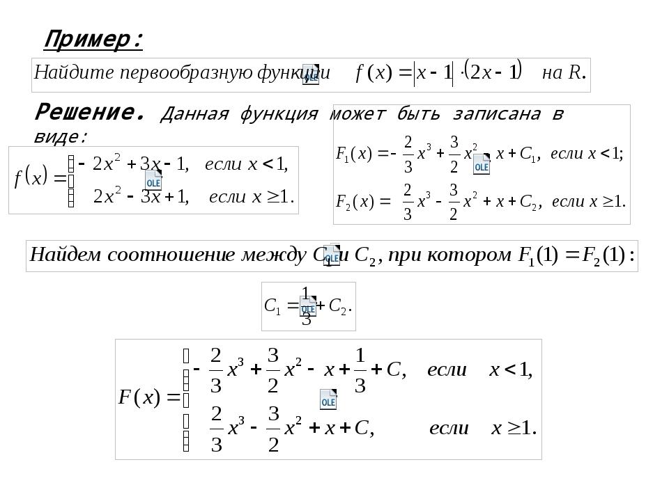 Пример: Решение. Данная функция может быть записана в виде: