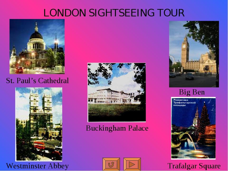 LONDON SIGHTSEEING TOUR Big Ben Trafalgar Square Buckingham Palace Westminste...