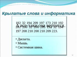 Крылатые слова и информатика 192 32 194 209 197 173 210 192 202 200 32 206 20