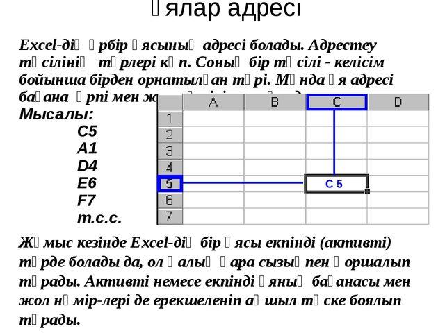 2. Excel В6 ұяшығына В1:В5 диапазонының қосындысын есептеу формуласын енгіз...
