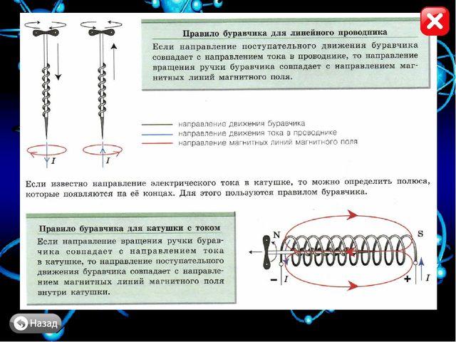 Задание № 3 На рисунке показано направление электрического тока в проводниках...