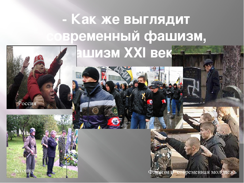 - Как же выглядит современный фашизм, «Фашизм ХХI века»? Эстония Россия Фашиз...