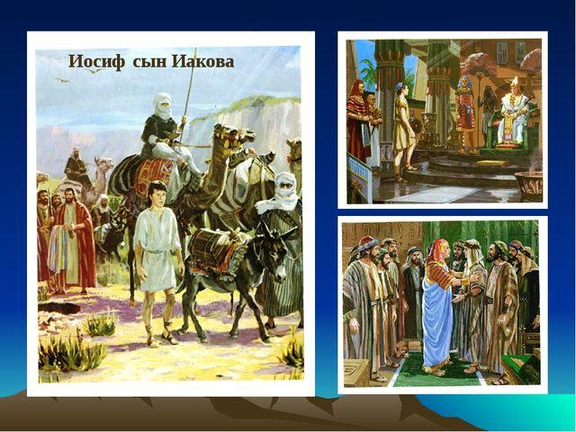 Иосиф сын Иакова