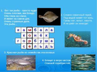 3. Красная рыба из семейства лососевых Вот так рыба – просто чудо! Очень плос