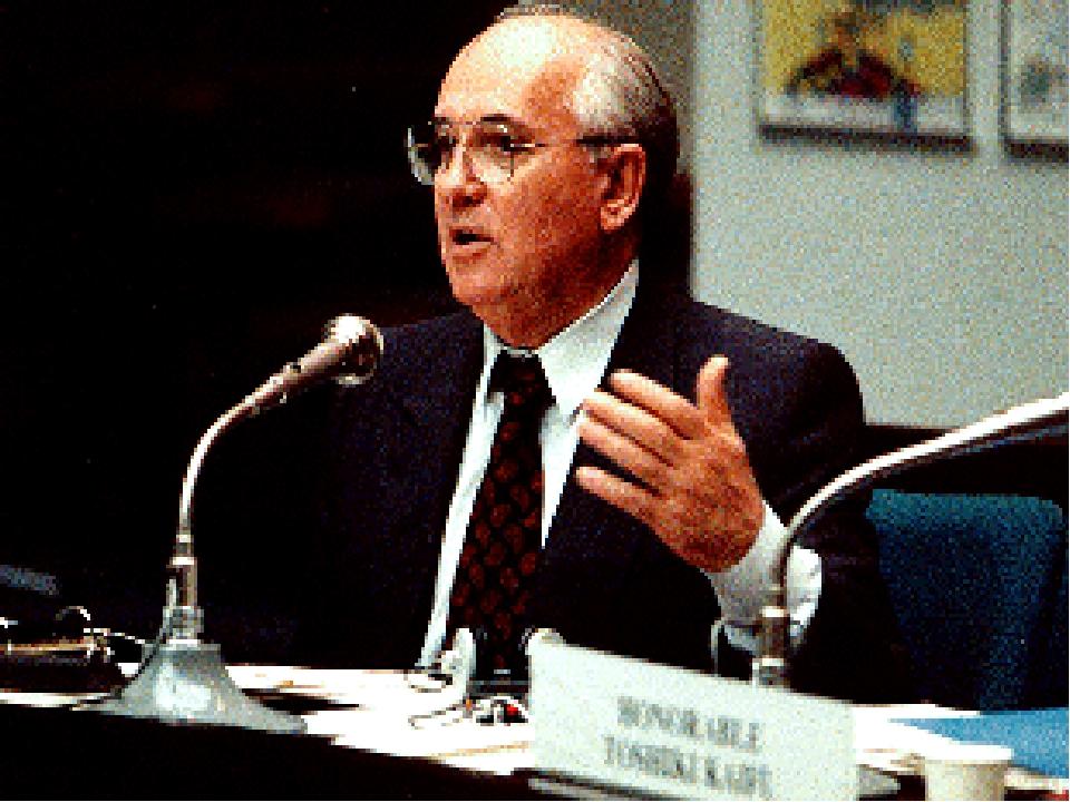 mikhail gorbachev an advocate of peace or a dictator essay
