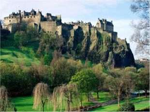 It is Scotland`s most famous castle. It is a very unique castle as it was bui