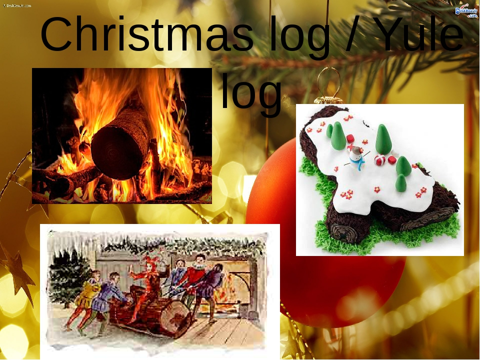 Christmas log / Yule log