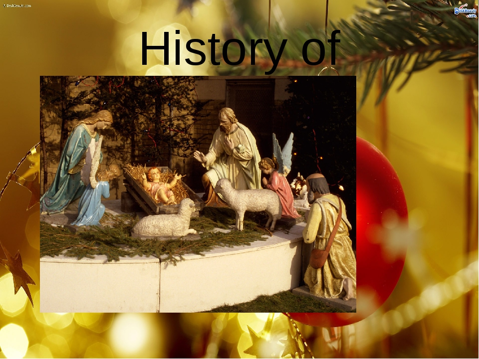 History of Christmas