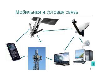 * Мобильная и сотовая связь