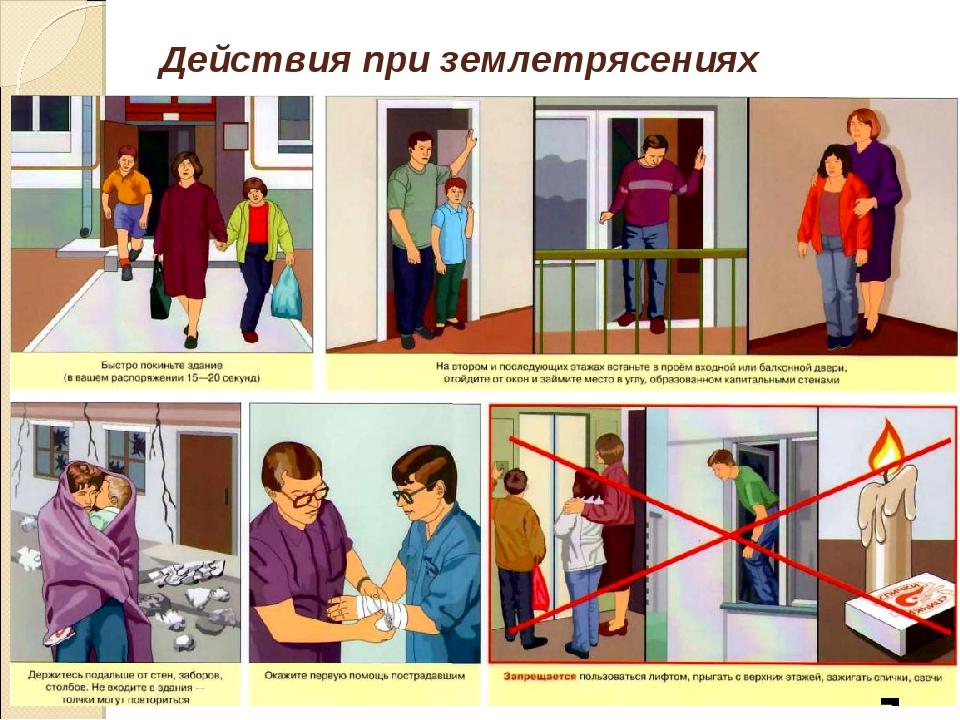Картинка действия при чрезвычайных ситуациях