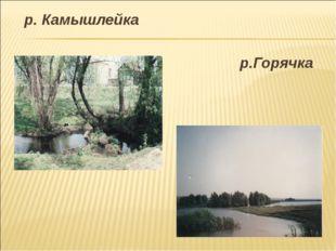 р. Камышлейка р.Горячка