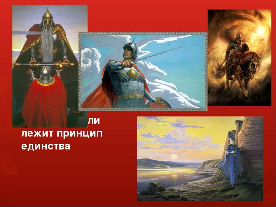 В основе образа Русской земли лежит принцип единства