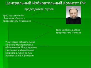 Центральный Избирательный Комитет РФ председатель Чуров ЦИК субъектов РФ Аму
