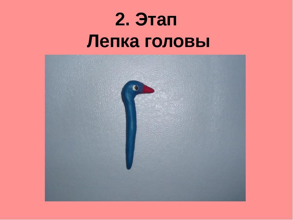 2. Этап Лепка головы