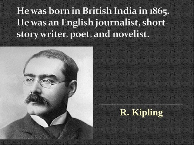R. Kipling